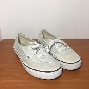Pre-Owned Vans All White Sneakers Without Box